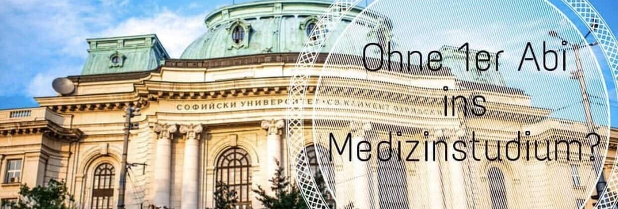 NC-frei Medizin studieren in Bulgarien